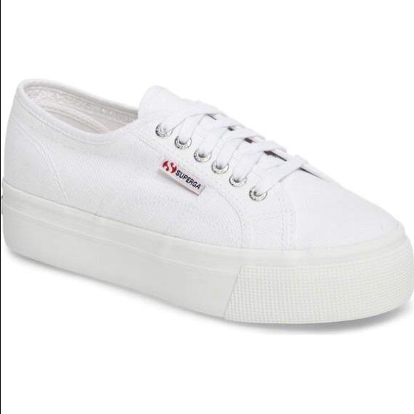 f44b1766a1c Superga Acot Linea platform sneakers. M 5acc17788290af26bea5f538
